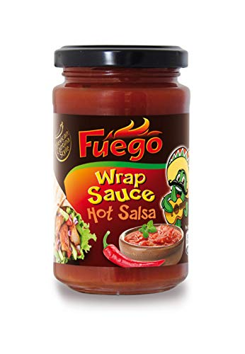 Fuego Wrap Sauce hot, 4er Pack (4 x 217 g)