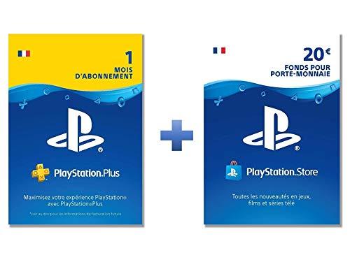 PlayStation Plus: Online Starter Pack (PS Plus 1 Mois et 20€ PSN Carte)