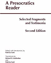 By Patricia Curd A Presocratics Reader (Second Edition) (2nd Edition)