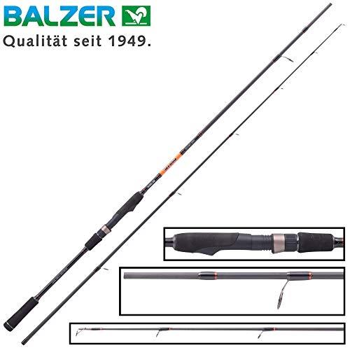 Balzer Shirasu Pike Twitch 2,11m 25-125g - Spinnrute zum Spinnfischen auf Hechte, Twitchrute zum Hechtangeln, Hechtrute, Angelrute
