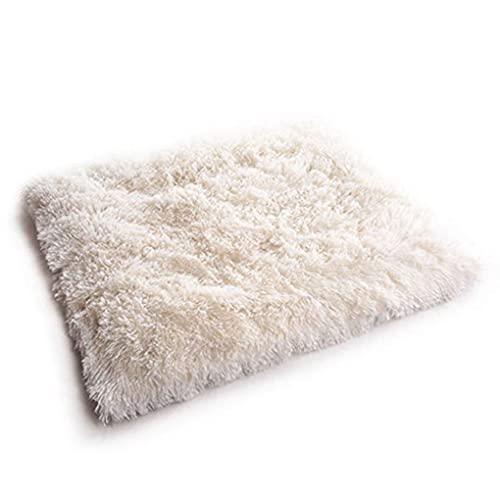 Gato arena mascota estera doble propósito perrera gato felpudo de pelo largo surcoreano terciopelo gato colchón mascota arena otoño e invierno arena estera
