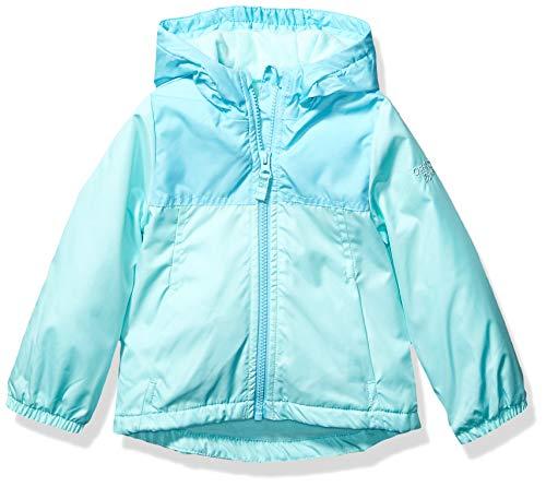 OshKosh B'Gosh Mädchen Midweight Jacket with Fleece Lining Jacke, türkis/Mint, 4 Jahre