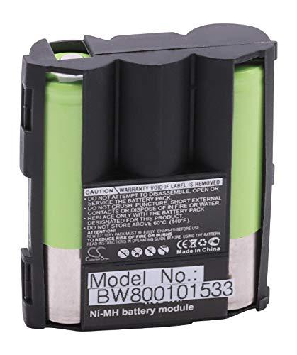 BATERÍA NI-MH 1200mAh 3.6V Compatible con Ascom Samba, Bang & Olufsen Beocom 5000, Telekom Sinus 51, Hirschmann 1200, GP T320 sustituye B3161 B 3161