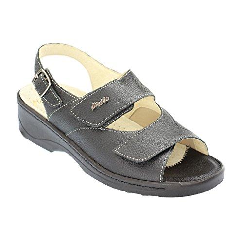 Fidelio Damen Sandaletten Hallux Sandale Hedi 33803-10 schwarz 300745