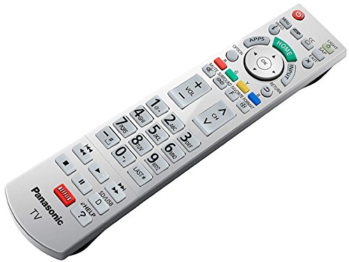 NEW Panasonic LED Smart TV Remote Control N2QAYB000865 Supplied with models: TC-L47WT60 TC-L55DT60 TC-L55WT60 TC-L60DT60 TC-L65WT600 4K