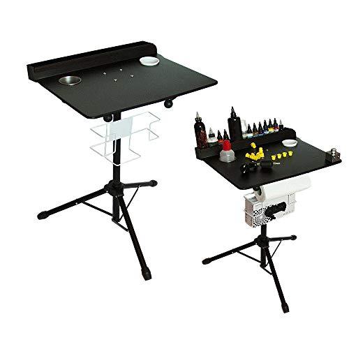 TFCFL Large Portable Workstation Adjustable Height Stand Salon Instrument Table