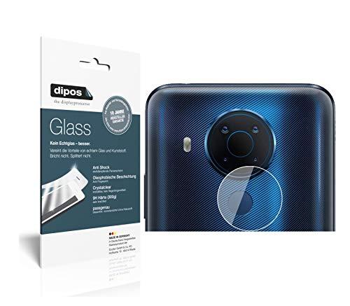 dipos I Protector de Pantalla Compatible con Nokia 5.4 Lente de la cámara Vidrio Flexible Cristal Proteccion 9H