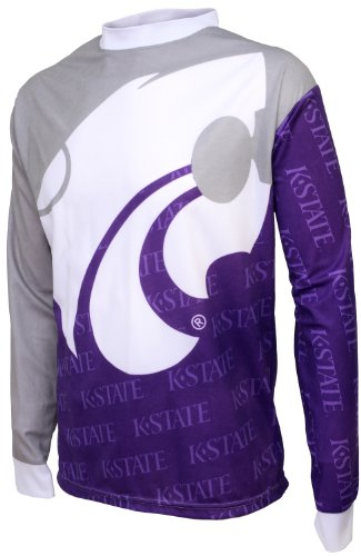 Adrenaline Promotions NCAA Kansas State Wildcats Mountainbike Trikot, Herren, Kansas State Wildcats, XX-Large