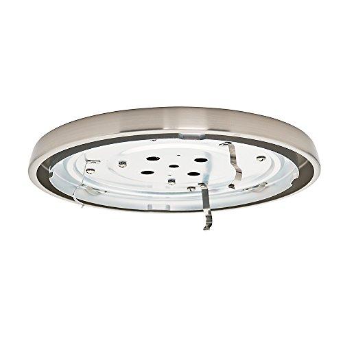 Casablanca Fan Company 99067, CFL Profil Fitter (Circline Ringlampe CFL), Nickel gebürstet