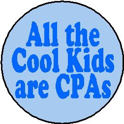 All the Cool Kids are CPAs Magnet - Funny Humor Certified Public Accountant