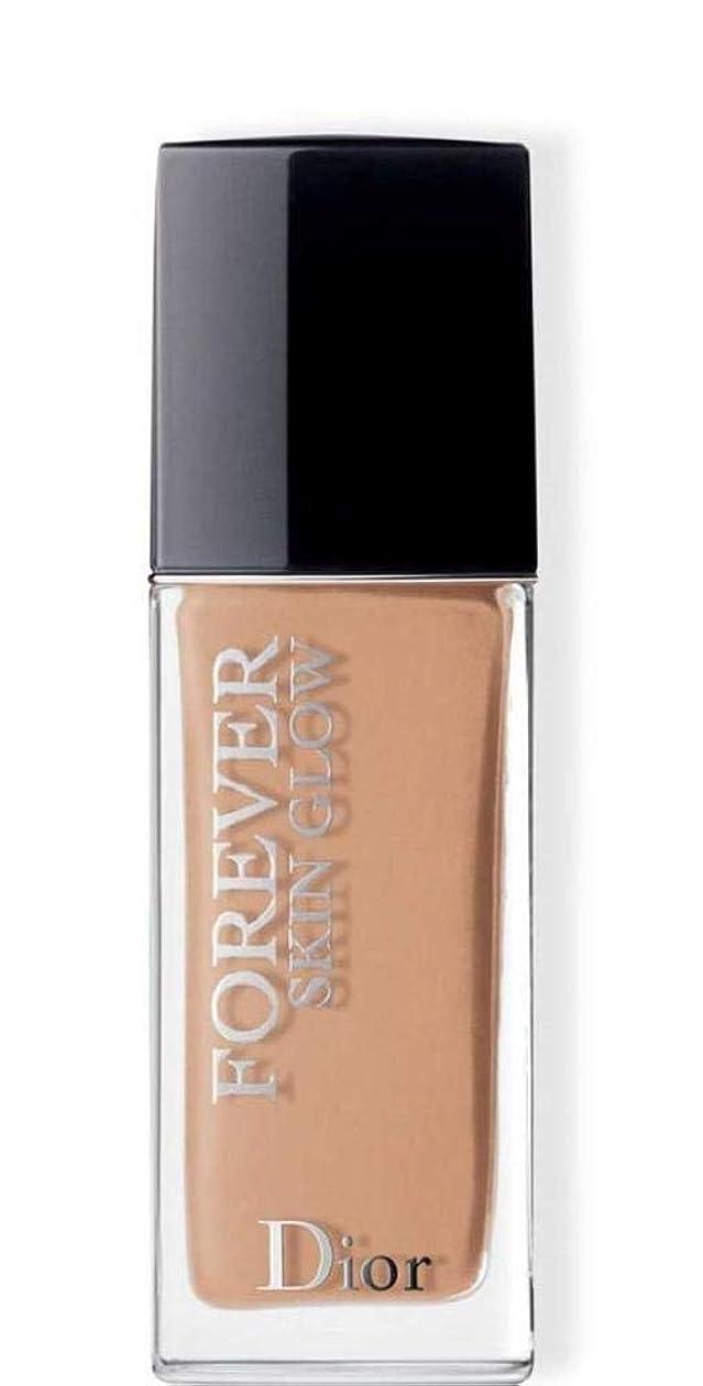 感覚会話型地域のクリスチャンディオール Dior Forever Skin Glow 24H Wear High Perfection Foundation SPF 35 - # 3WP (Warm Peach) 30ml/1oz並行輸入品