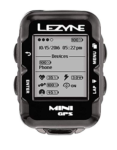 LEZYNE Mini GPS, Black, One Size