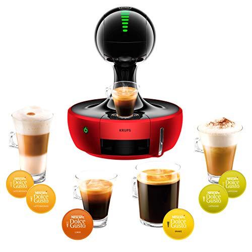 Krups YY2501FD Nescafé Dolce Gusto Drop Kaffeekapselmaschine– Automatisch–Profiqualität –Druck 15Bar – mit Touchscreen–große Auswahl an Heiß- und Kaltgetränken