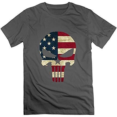 Men's Funny Chris Kyle Frog American Sniper Skull Logo T-Shirt L