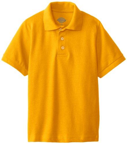 Dickies Jungen Poloshirt, kurzärmlig - Gelb - Medium