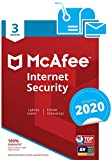 McAfee Internet Security 2018, 3 PC 3 licencia(s) - Seguridad y antivirus (3 PC, 3 licencia(s))
