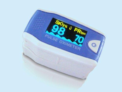 Fingerpulsoximeter für Kinder MD 300C5 inklusive Zubehör: Aufbewahrungstasche, Trageband, Silikonschutzhülle, Batterien, Gebrauchsanleitung