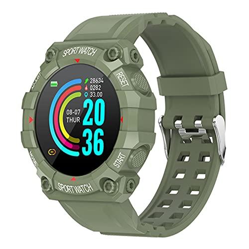 Skyeen FD68 Reloj Deportivo Inteligente de Moda Pantalla Digital de Alta definición IP67 Monitor de sueño con frecuencia cardíaca Impermeable Reloj Deportivo BT Multifuncional