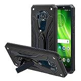 AFARER - Custodia protettiva per Motorola Moto G6 Play, qualità militare testata a 3,6 m, protezione estrema, doppio strato, con supporto pieghevole per Motorola Moto G6 Play 5,7 pollici