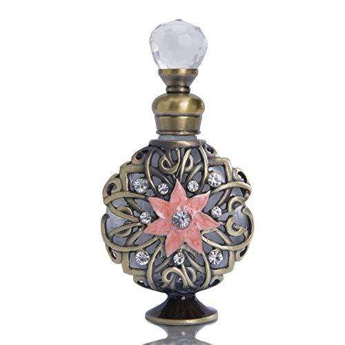 ZLSP Botellas de perfume hecho a mano botellas de cristal vacías decoración recargable mini botella vacía botellas de aceite esencial de Dubai estilo de Dresser decoración de la tabla, regalos, Viajar
