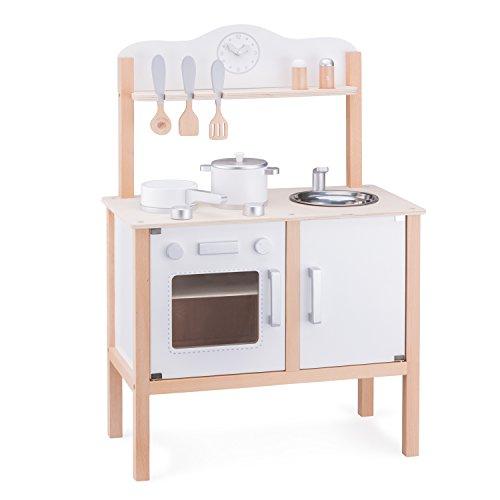 New Classic Toys - 11050 - Jeu D'imitation - Cuisine - Modern - Blanche