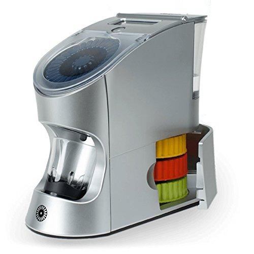 Vitamin Countertop Dispenser | Mixes Powder Vitamins into 2 Oz. Liquid Servings | Various 31 Serving Tespo Pods Insert Into Tray | Black Tespo Blender Cup Included