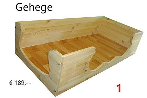 Meerschweinchengehege-Käfig-Stall, B145 x T60 x H30 cm, urinfester PVC-Belag
