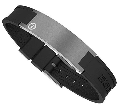 ProExl Best Magnetic Energy Golf Bracelet for Men Graphite Grey