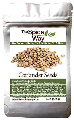 The Spice Way Coriander Seeds - 5 oz