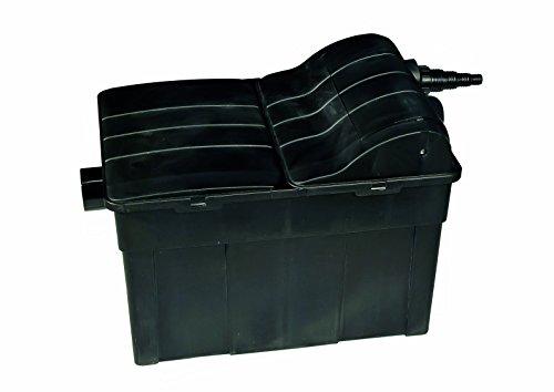 Jebao Teichfilter UBF12000 inklusive 18W UVC-Einheit, fischteichgeeignet Filter Teich Durchlauffilter