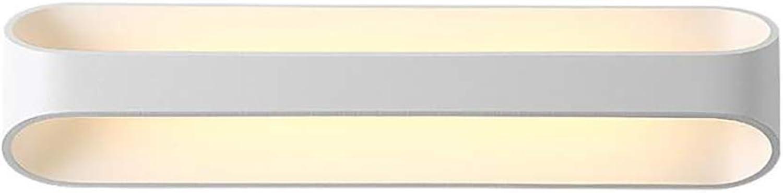 YXTK LED Wandleuchte Bad,Kreativitt Wandlampen Innen Aluminium Ausstrahlungswinkel Wandbeleuchtung Atmosphrenlampe Studieren und Arbeiten Gang Baby-Sicher Wohnzimmer