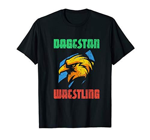 Dagestan Wrestling Trikot. Profi Kampfsport. Russland Ringen T-Shirt