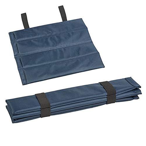 Colchoneta térmica para asiento, cojín térmico, asiento exterior, impermeable, plegable