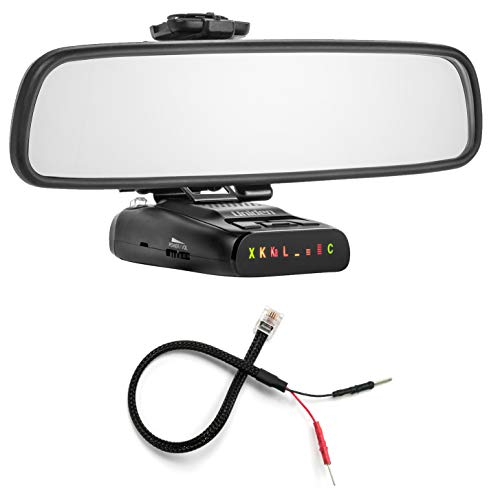 Buy Bargain Radar Mount Mirror Mount Bracket + Mirror Wire Power Cord for Uniden DFR (3001109)