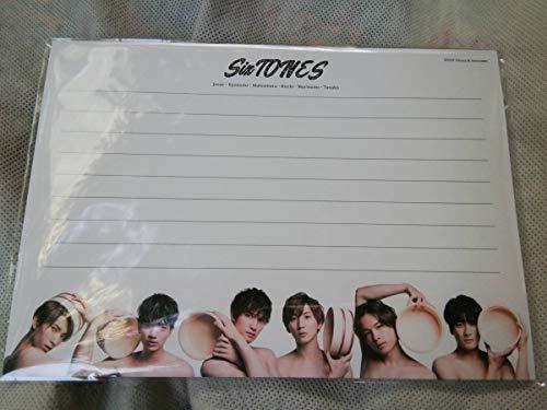 レターセット SixTONES 少年たち To be ! 2019 スト