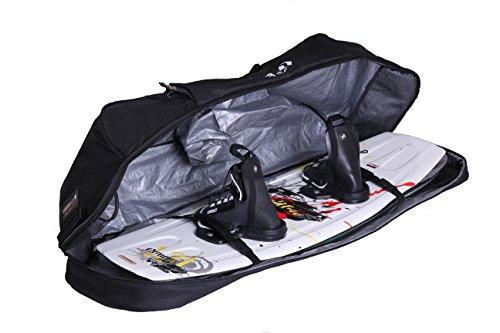Driver13 ® Wakeboardbag No.02 Tasche Kiteboardtasche für Dein Kiteboards mit Rucksacksystem 145 cm schwarz