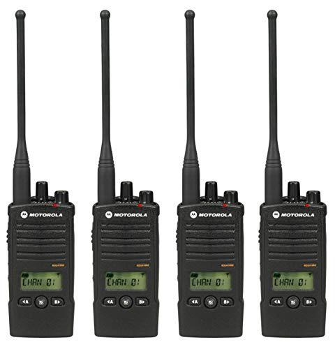 4 Pack of Motorola RDU4160d Two Way Radio Walkie Talkies