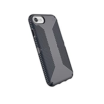 Speck Products Presidio Grip iPhone SE 2020 Case/iPhone 8  Also Fits 7/6S/6  Graphite Grey/Charcoal Grey