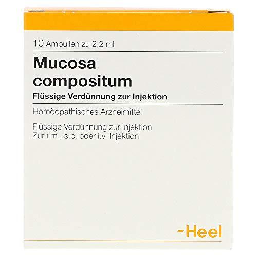 Mucosa compositum Heel, 10 St. Ampullen