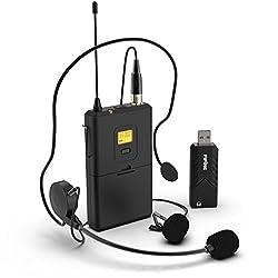best wireless microphones for computer pc laptop 2019 becomesingers com. Black Bedroom Furniture Sets. Home Design Ideas