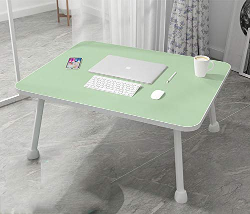 GRF Home Dortoir Portable Apprentissage Ordinateur Portable Table de Lit Simple Moderne Table d'Ordinateur Rehausseur Siège Convient pour Chambre Salon Bureau, b