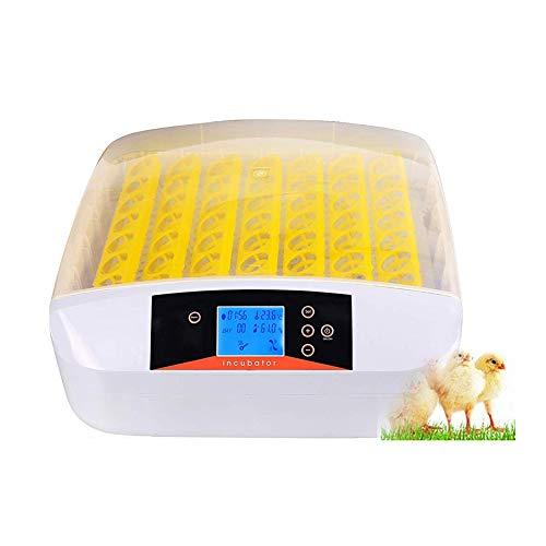 ZCXBHD 56 Incubadora de Huevos Automático Digital Hatcher Temperatura Humedad Controlar para Pollos Patos Aves con Pruebas Ligero (Size : 220V)