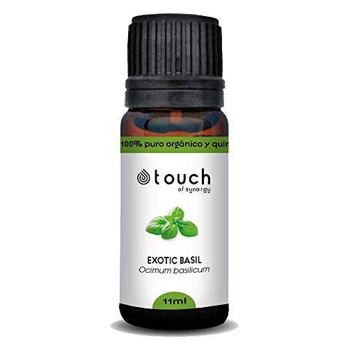 Aceite esencial de Albahaca Exótica (Ocimum basilicum) 100% Puro, orgánico y quimiotipado (10mL)