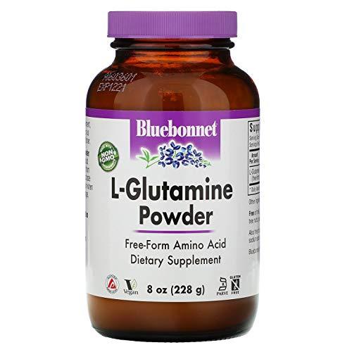 Bluebonnet Nutrition L-glutamine Powder, 8 Ounce