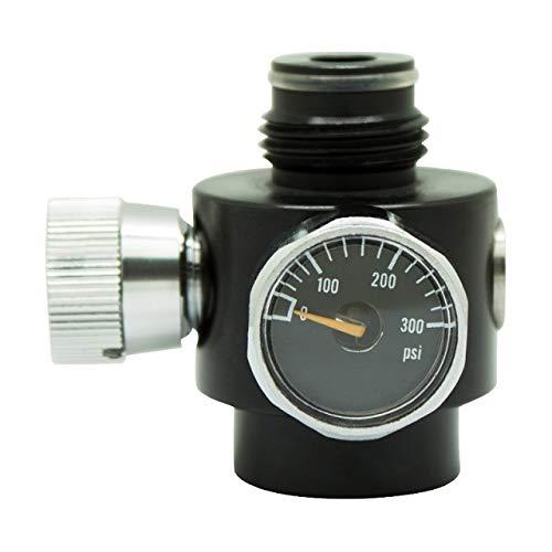 NJ-bedding. Wnj-valves, 1set Paintball CO2 Refill-Adapter-Set Druck einstellbar Regler Mit Gas Refill Launcher Lade Set (Größe : Just 300psi Regulato)
