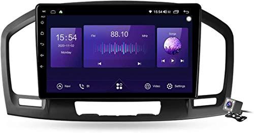 Android 10 Car Radio de Navegación GPS para Buick Regal/Opel Insignia 1 2009-2013 con 9 Pulgada Táctil Support 5G FM RDS/DSP MP5 Player/Steering Wheel Control/Carplay Android Auto