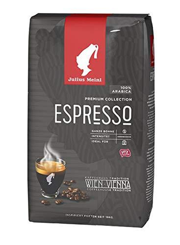 Julius Meinl - Espresso Wiener Art Bohne Röstkafee Mocca Kaffeevollautomaten - 1kg