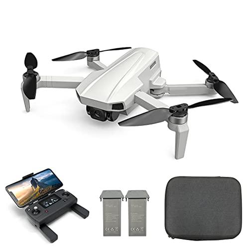 Bulokeliner MJX Bugs B19 - Drone RC pieghevole con fotocamera 4 K, 5 G, WiFi GPS FPV, senza spazzole con custodia portatile e due batterie, tempo di volo 25 minuti