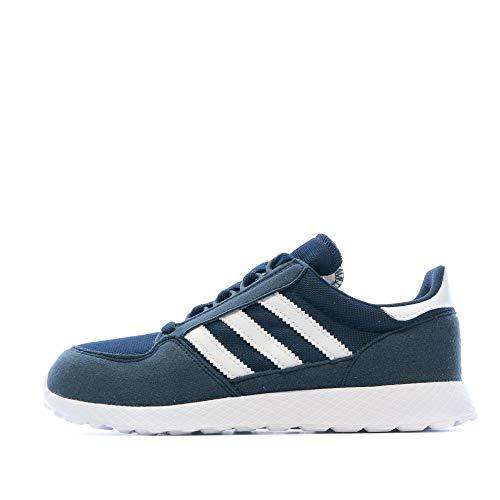 adidas Forest Grove C - Zapatillas deportivas para niño, Azul (azul), 35 EU