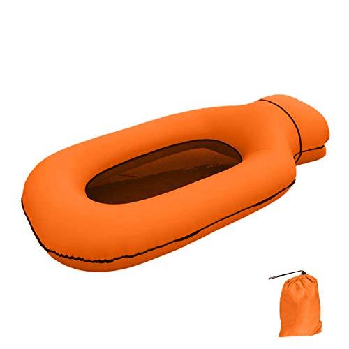 POHOVE Flotador inflable para piscina, tumbona flotante, hamaca flotante, flotador para piscina para adultos y niños, bolsa de almacenamiento flotante para juegos de piscina